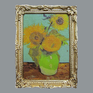 Van Gogh - First Sunflower