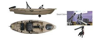 Estuary Hunter Stealth 33 Plus Osapian 30lb thrust motor ( NOT PEDAL POWERED ) Electric Only