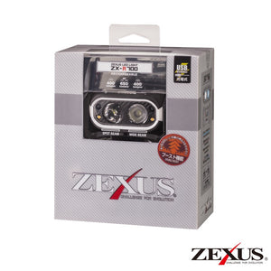 Zexus R700 Rechargeable Head Lamp