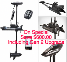 Load image into Gallery viewer, Cayman B Non GPS 80lbs Gen 1 - 80lbs thrust  with Gen 2 GPS Upgrade ( ANCHOR LOCK )