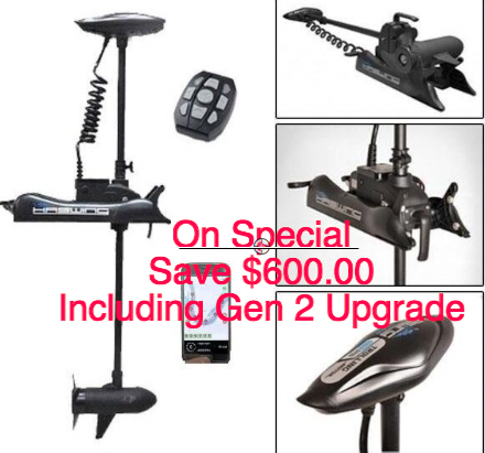 Cayman B Non GPS 80lbs Gen 1 - 80lbs thrust  with Gen 2 GPS Upgrade ( ANCHOR LOCK )