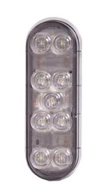 LIGHT-OVAL LED WHITE BACKUP LIGHT