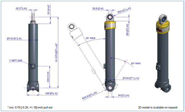 Telescopic Cylinder - 5383