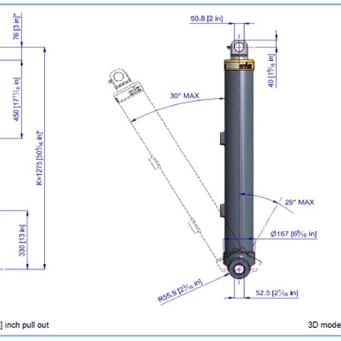 Telescopic Cylinder - 63110
