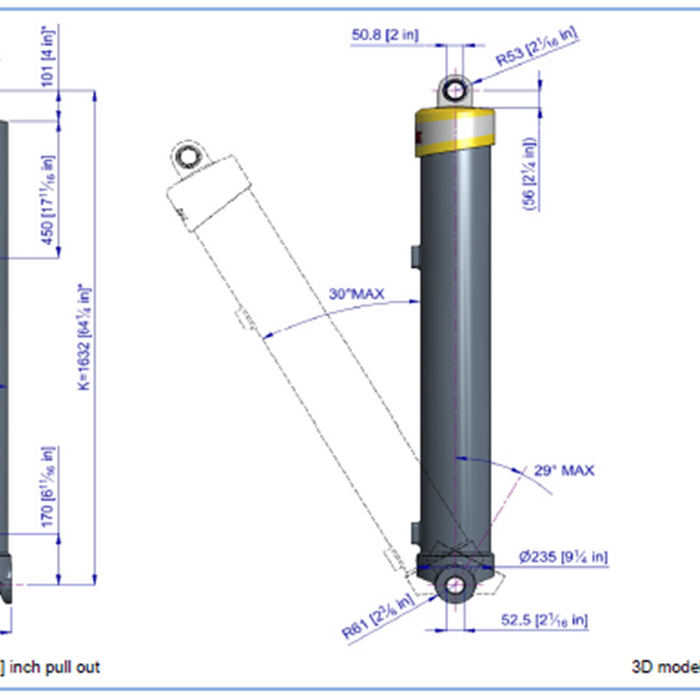 Telescopic Cylinder - 85245