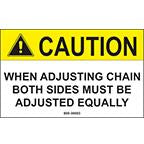 DECAL-CHAIN ADJUSTER