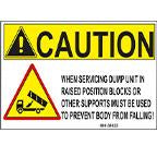 DECAL-CAUTION SMALL