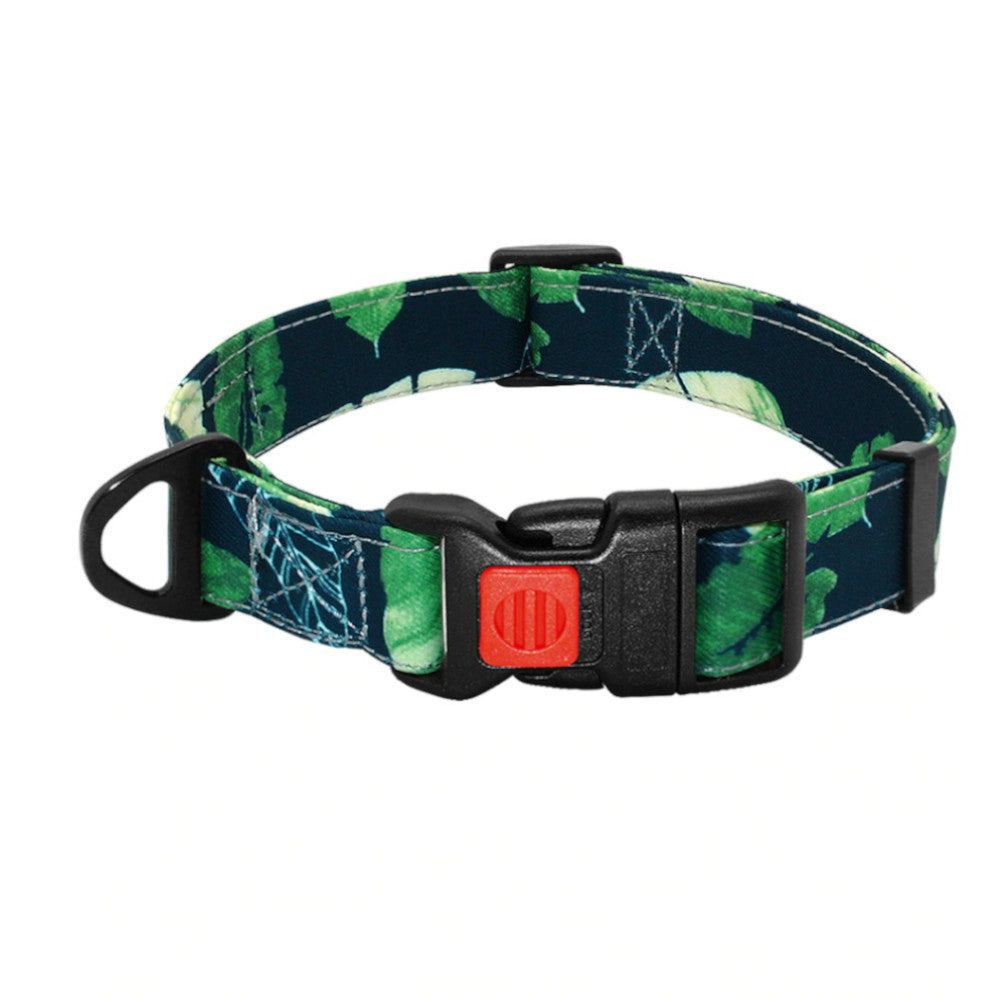 Pidog Just Be-leaf Nylon Dog Kcollar