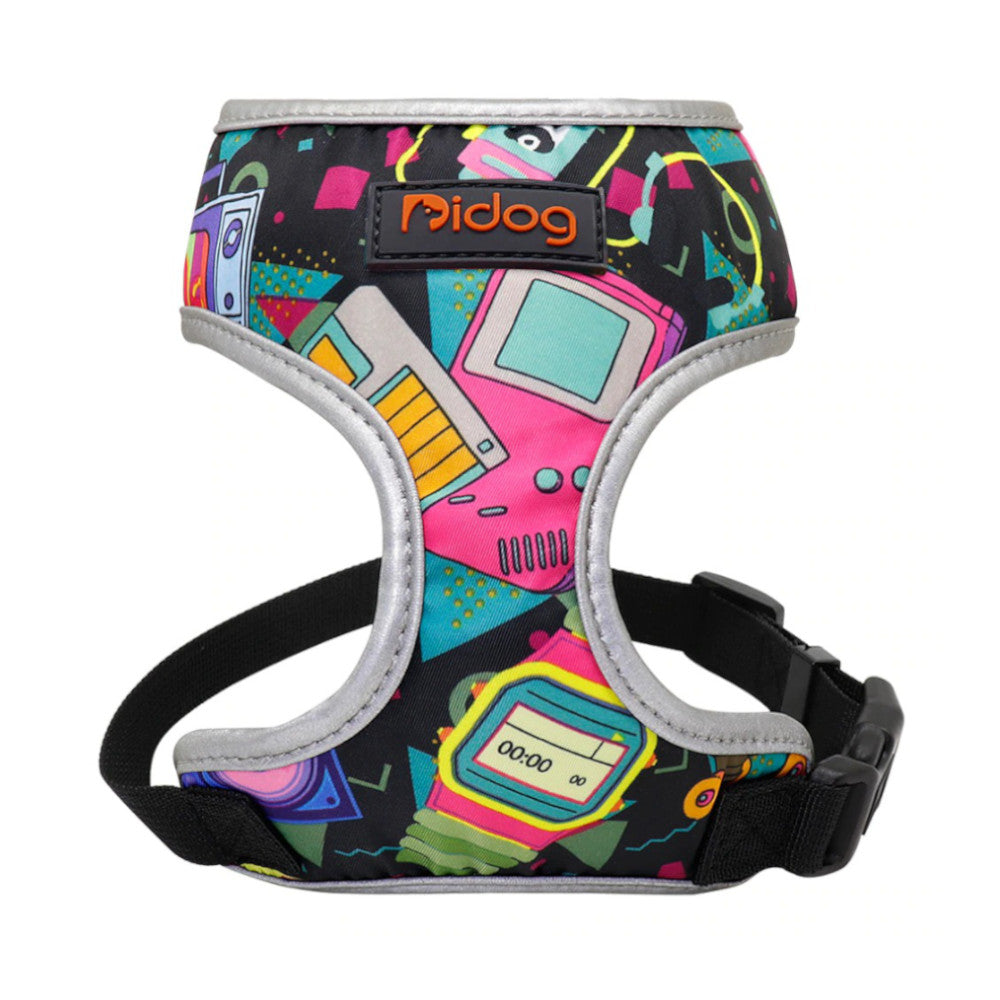 Pidog Retro Throwback Nylon Dog Harness