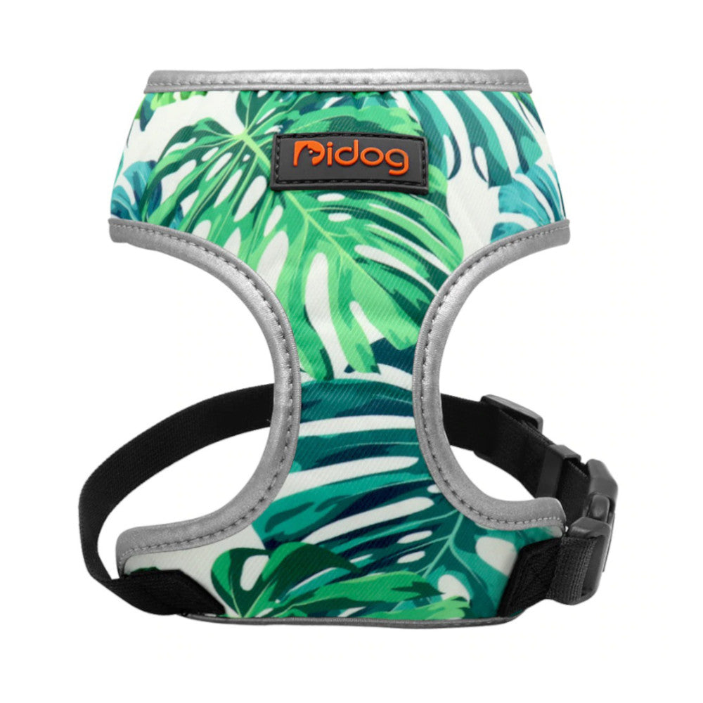 Pidog Tropical Day Nylon Dog Harness