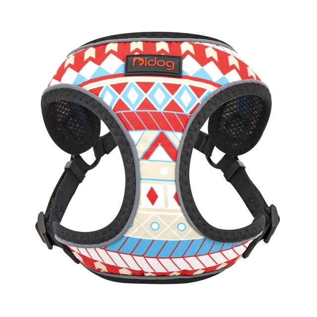 Pidog Summer Camp Nylon Dog Harness