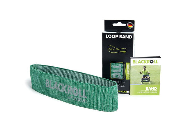 blackroll loop band green