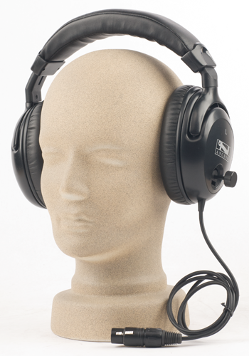 H-2000L , Dual Muff Headset Listen Only , Anchor Audio