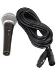 Wired Handheld Microphone with XLR Connector