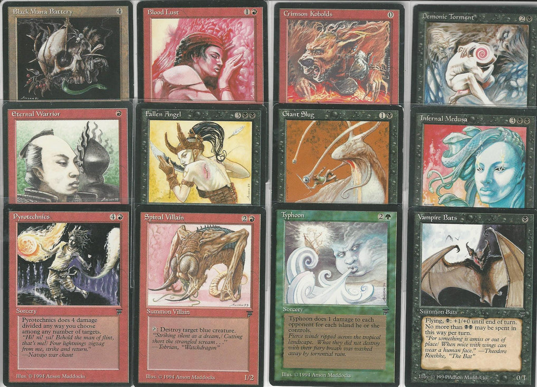 **Full Set of Legends Artist Proof