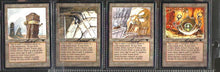 Set of Urza's Mines with Artwork