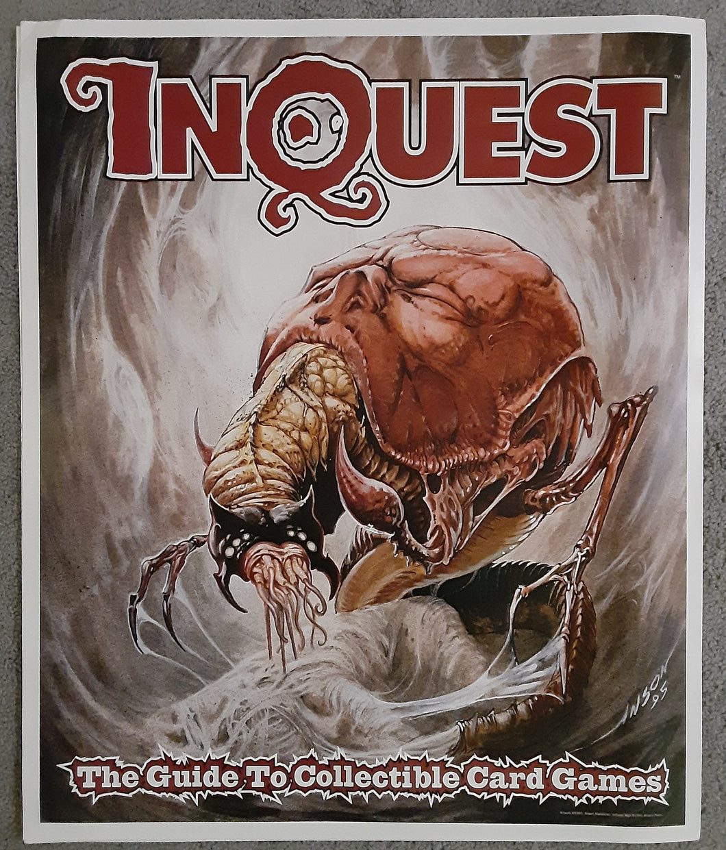 Rare Inquest Magazine Poster