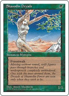 Shanodin Dryads 4th Edition AP