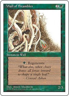 Wall of Brambles 4th Edition AP