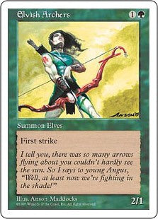 Elvish Archers (5th Edition) Artist Proof