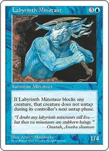 Labyrinth Minotaur (5th Edition) Artist Proof