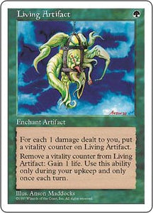 Living Artifact (5th Edition) Artist Proof