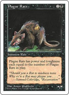 Plague Rats (5th Edition) Artist Proof