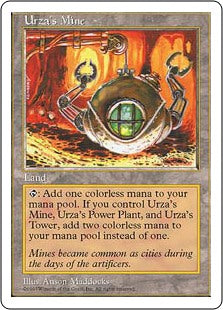 Urza's Mine (5th Edition) Artist Proof