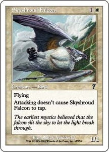 MTG - Skyshroud Falcon Original Artwork NFS