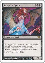 MTG - Vampiric Spirit Original Artwork NFS