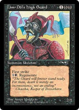MTG - Lim-Dul's High Guard (Red Armor) Original Artwork - NFS