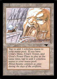 Urza's Mine Artist Proof (mouth)