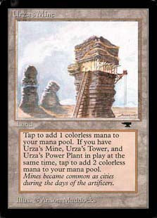 Urza's Mine Artist Proof (Tower)