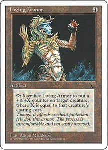 Living Armor Artist Proof (Chronicles)