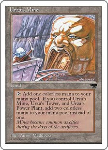 Urza's Mine - Mouth- Artist Proof (Chronicles)