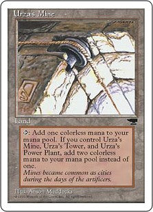 Urza's Mine - Pulley- Artist Proof (Chronicles)