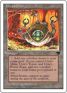 Urza's Mine - Sphere - Artist Proof (Chronicles)