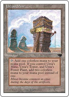 Urza's Mine - Tower - Artist Proof (Chronicles)