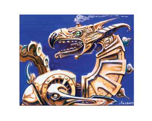"""Dragon Engine"" Giclée Print"