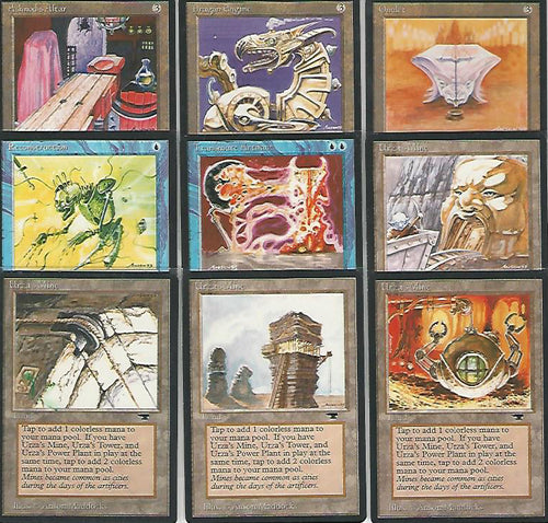 **Full Set of 9 Antiquities Artist Proofs