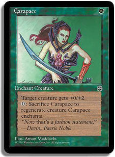 Carapace (Sword) Artist Proof