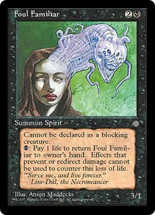 Foul Familiar Artist Proof