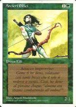 Elvish Archers - Revised Edition Artist Proof