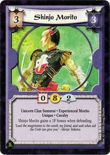 "L5R ""Shinjo Morito"" Original Published Artwork"