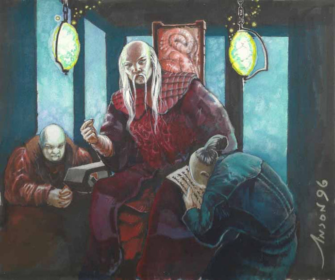 ***SOLD**L5R - Akodo Kage Original Artwork