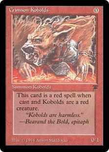 Crimson Kobolds Artist Proof