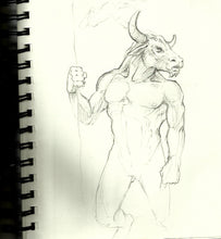 Minotaur II Original Artwork NFS