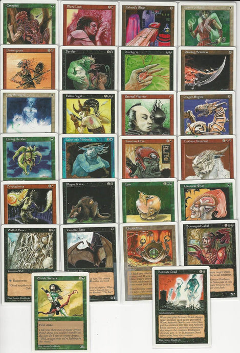 **Full Set of 5th Edition Artist Proofs