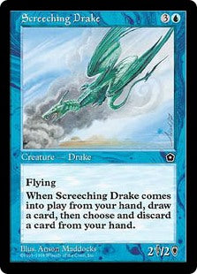 Screeching Drake (Portal Second Age) Artist Proof
