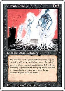 Animate Dead - Revised Edition Artist Proof